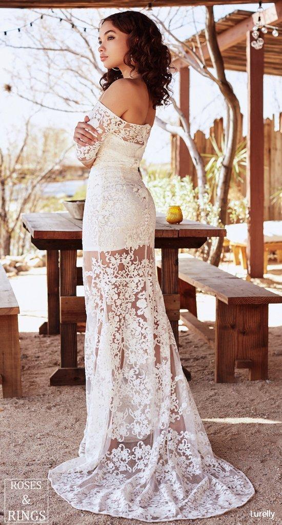 Lurelly Bohemian Wedding Dresses 2018 Roses Amp Rings