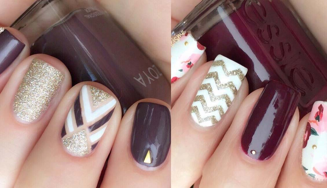24 Trendy Fall Nail Design Ideas Roses Amp Rings Part 2