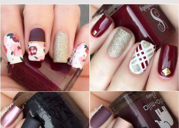 Melcisme Fall Nail Art and Designs