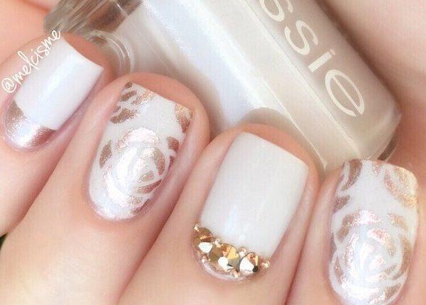 Melcisme Wedding Nail Art Ideas 10