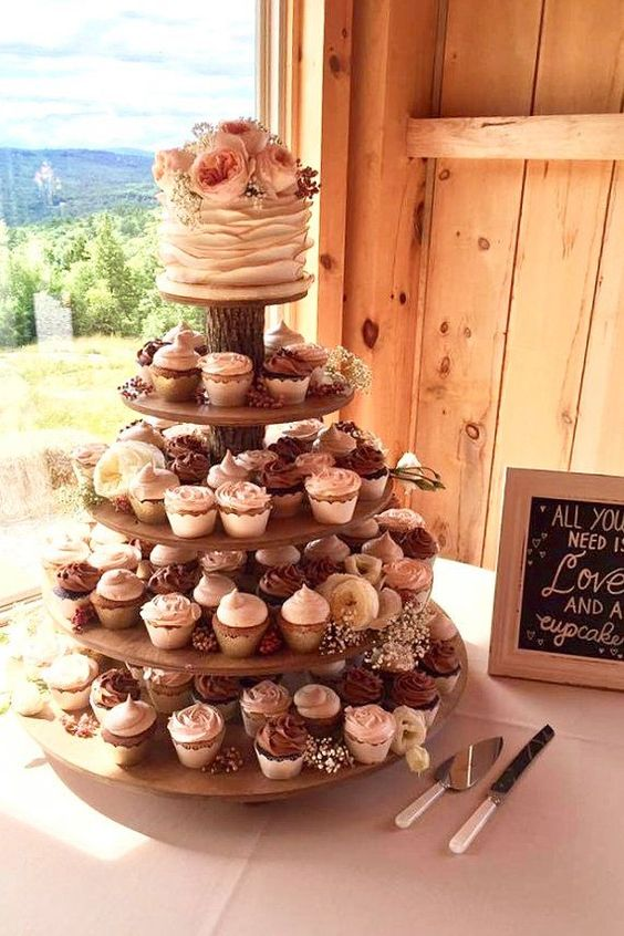 20 Best Of Fall Wedding Cupcake Ideas Roses Rings