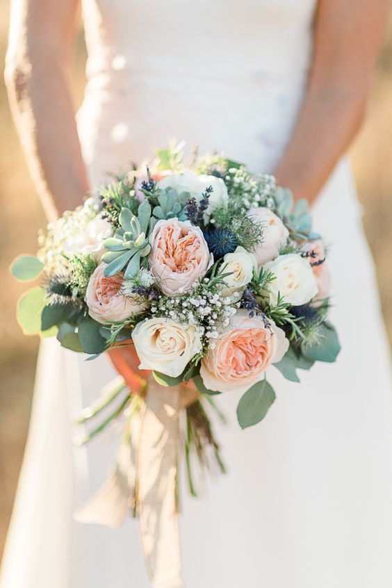Top 20 Rustic Succulent Wedding Bouquets Roses Amp Rings