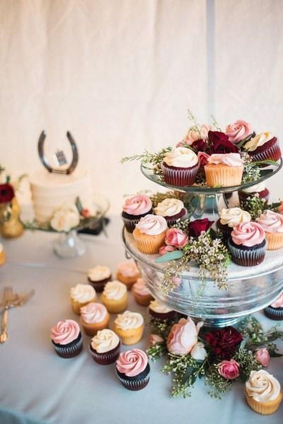 20 Best of Fall Wedding Cupcake Ideas | Roses & Rings