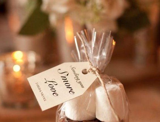 Winter Smore Wedding Favors