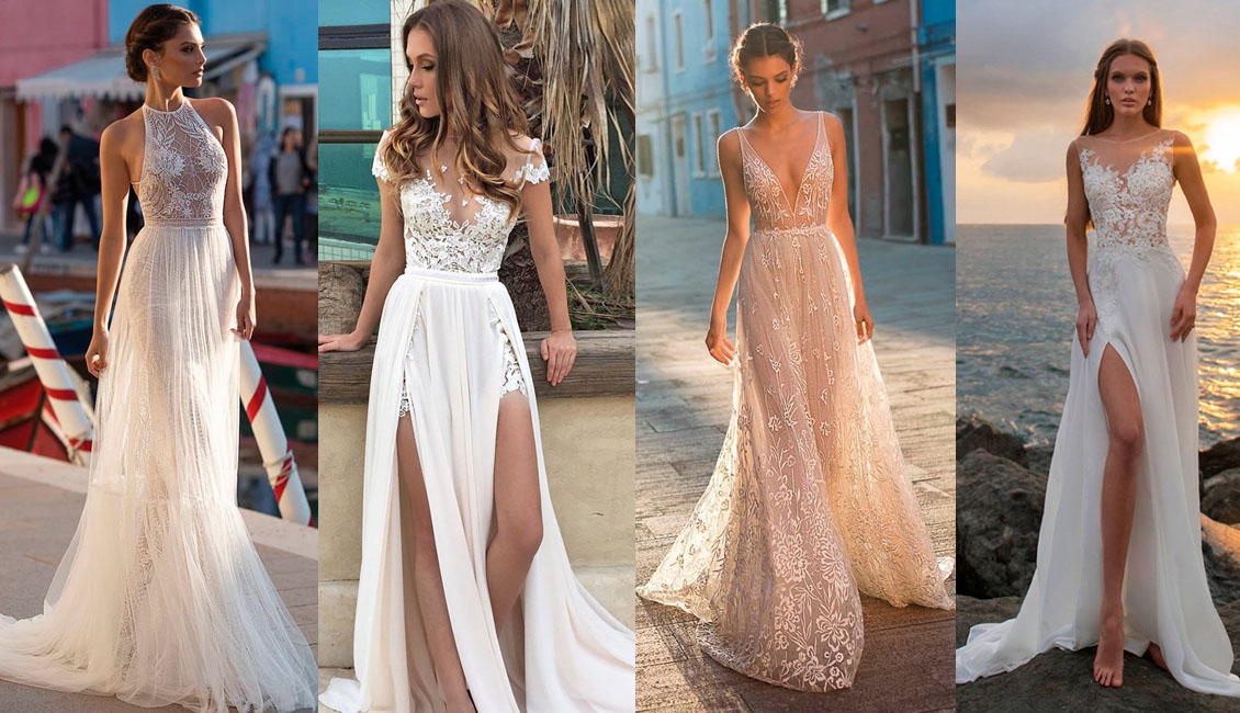 30 Beach Wedding Dresses Perfect for a Destination Wedding | Roses ...