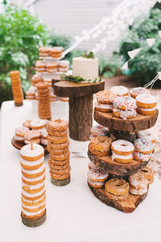 You Have To See The 20 Adorable Wedding Donut Bar Ideas