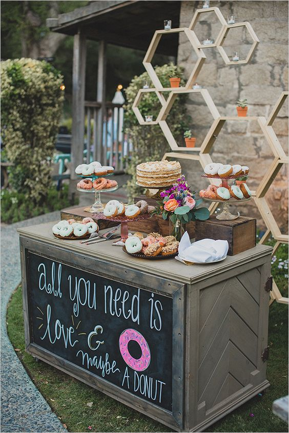 You HAVE To See The 20 Adorable Wedding Donut Bar Ideas ...
