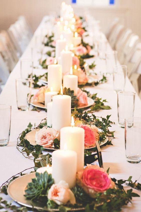 20 Elegant Succulent Wedding Centerpiece Ideas | Roses