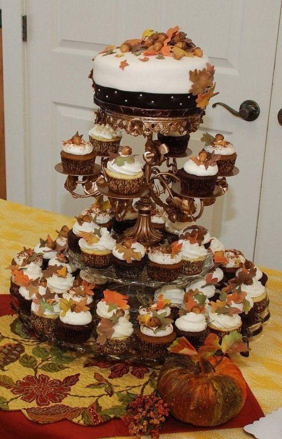20 Best Of Fall Wedding Cupcake Ideas Roses Rings