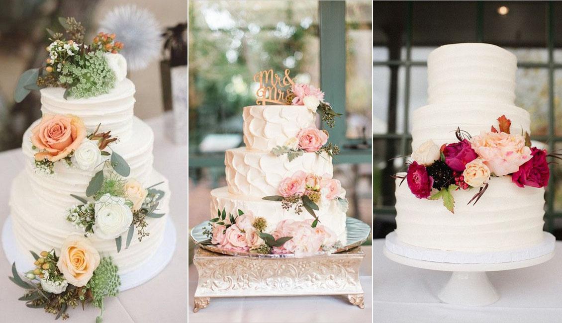 Buttercream Wedding Cakes.20 Sweetest Buttercream Wedding Cakes Roses Rings