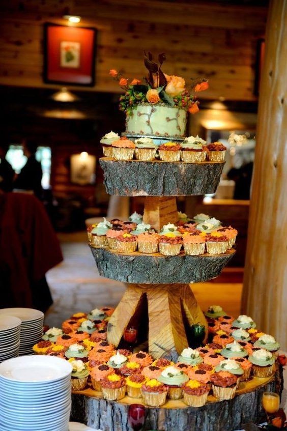 20 Best Of Fall Wedding Cupcake Ideas Roses Amp Rings