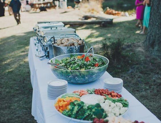 summer bbq wedding food ideas