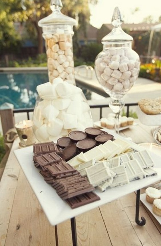 20 Best of S'more Bar Wedding Food Station Ideas Roses