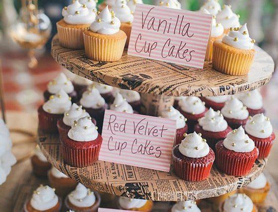 wedding cupcake ideas via rebekah murray
