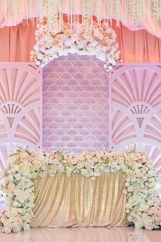 Top 20 Luxury Sweetheart Table Decor Ideas Roses Amp Rings
