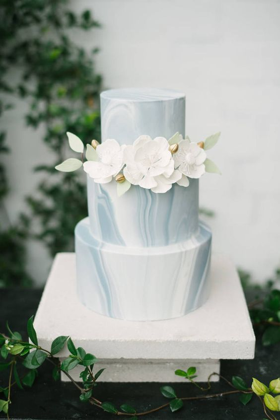Wedding Trends 20 Marble Wedding Cakes Roses Amp Rings