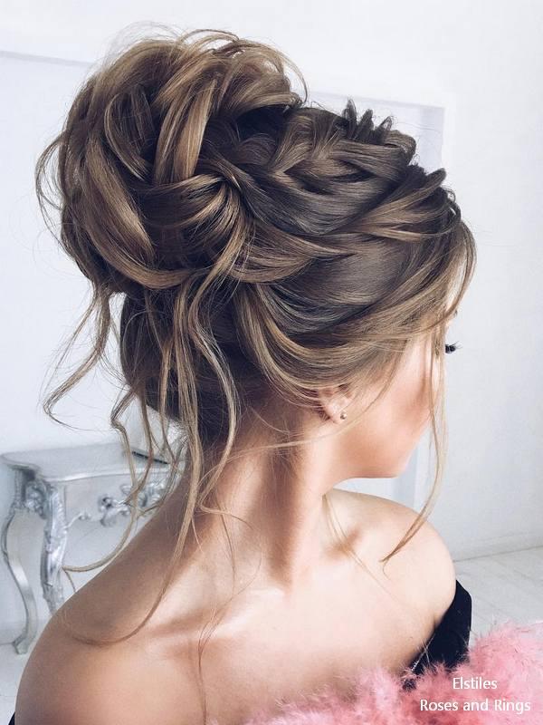 Top 20 Elstiles High Updo Wedding Hairstyles Roses Amp Rings