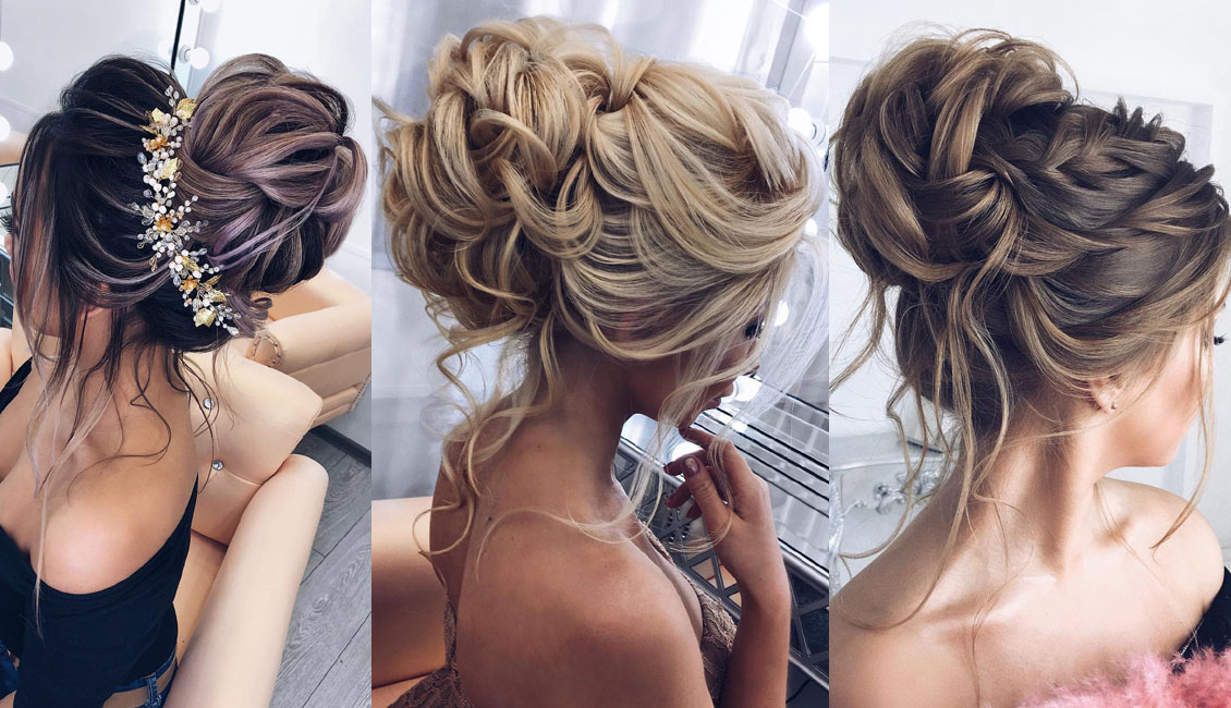 Top 20 Fabulous Updo Wedding Hairstyles: Top 20 Elstiles High Updo Wedding Hairstyles