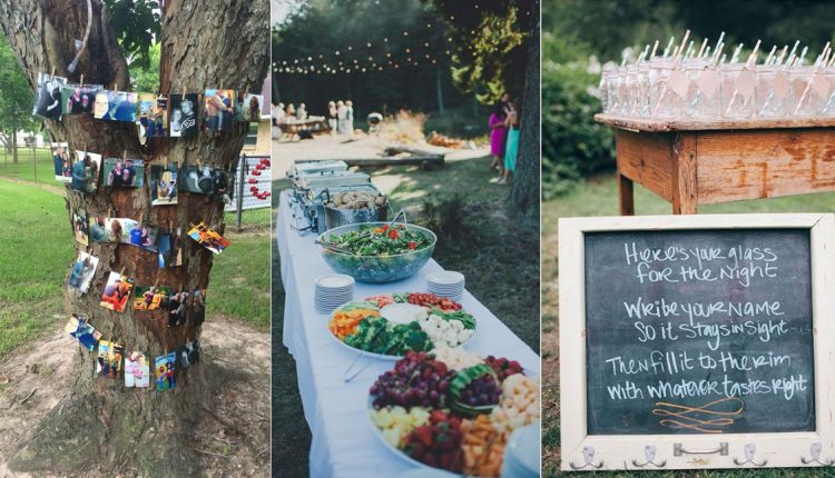 I DO BBQ wedding reception ideas