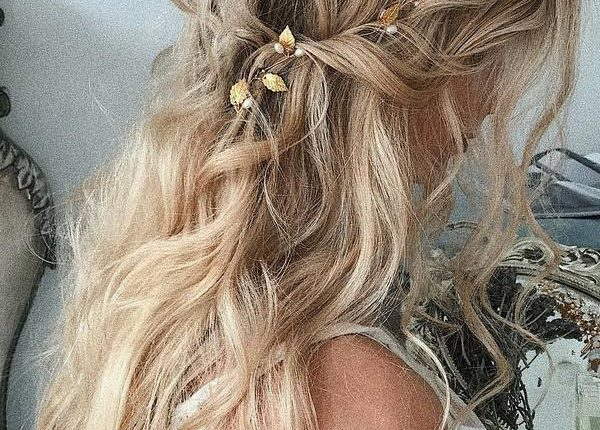 Ulyana Aster Long Wedding Hairstyles and Updos 5