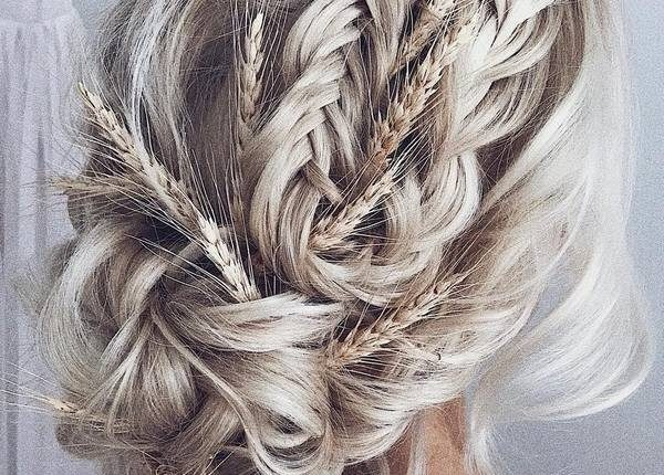Ulyana Aster Long Wedding Hairstyles and Updos 7