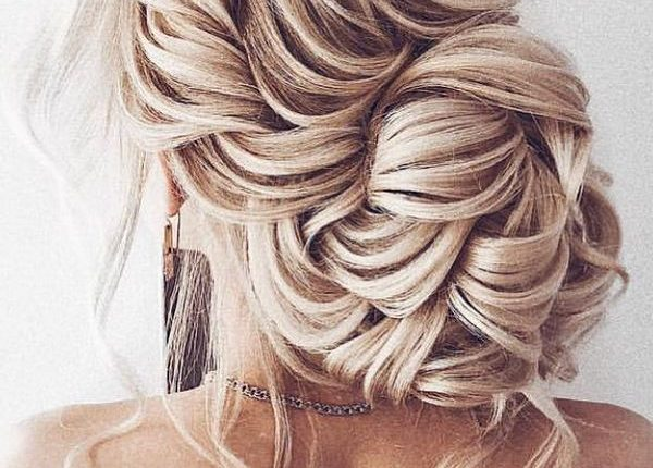 Ulyana Aster Long Wedding Hairstyles and Updos 9