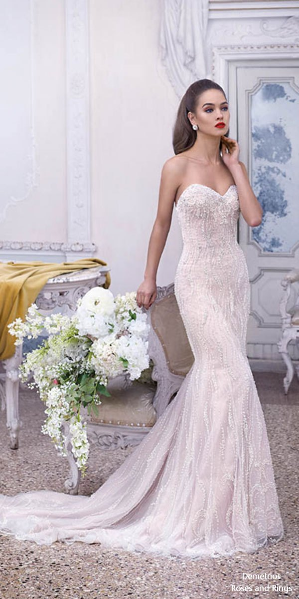 Platinum By Demetrios 2019 Wedding Dresses Roses Amp Rings