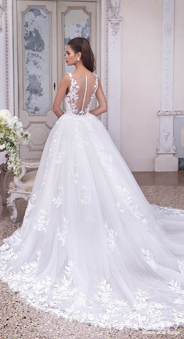 Platinum By Demetrios 2019 Wedding Dresses Roses Amp Rings