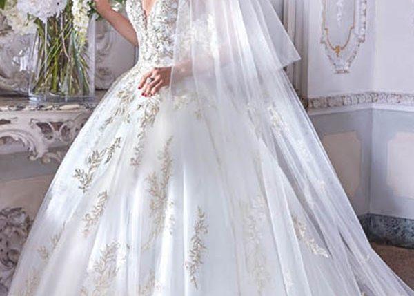 Demetrios 2019 Wedding Dress DP381_1