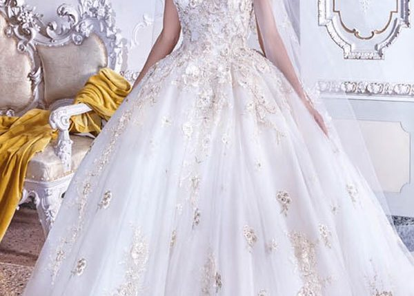 Demetrios 2019 Wedding Dress DP383_1