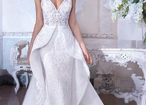 Demetrios 2019 Wedding Dress DP386_1