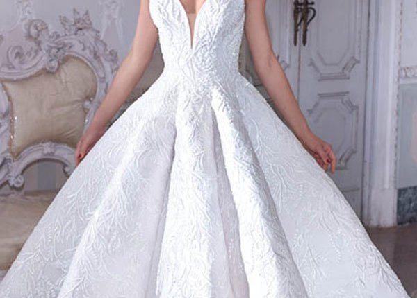 Demetrios 2019 Wedding Dress DP388_1