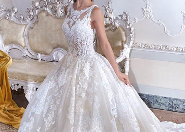 Demetrios 2019 Wedding Dress DP390_1