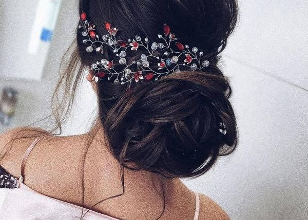 Long Wedding hairstyles and updos from xenia_stylist 11