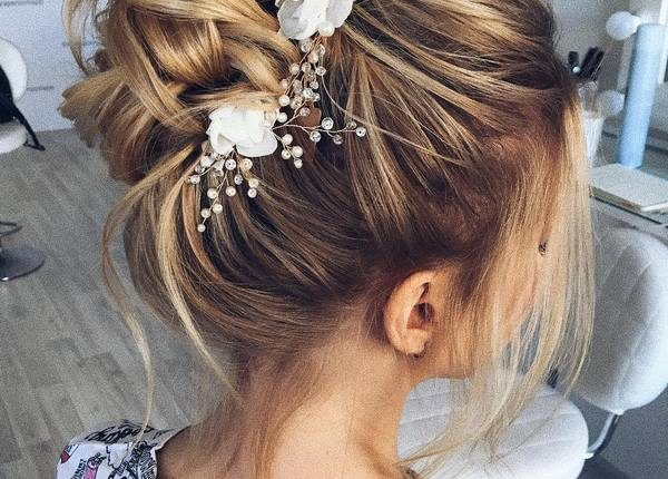Long Wedding hairstyles and updos from xenia_stylist 13