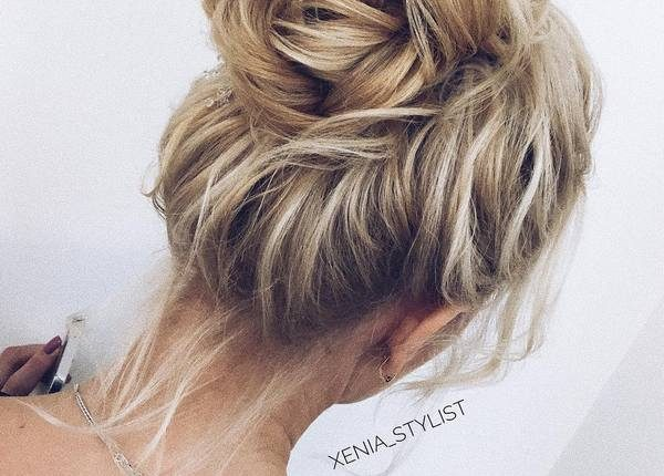 Long Wedding hairstyles and updos from xenia_stylist 14