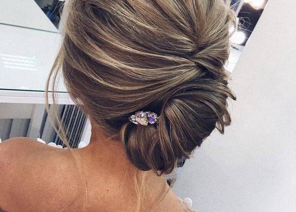 Long Wedding hairstyles and updos from xenia_stylist 19