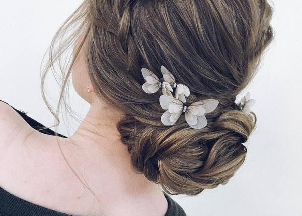 Long Wedding hairstyles and updos from xenia_stylist 22