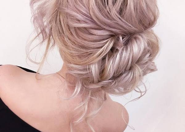 Long Wedding hairstyles and updos from xenia_stylist 29