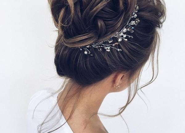 Long Wedding hairstyles and updos from xenia_stylist 5