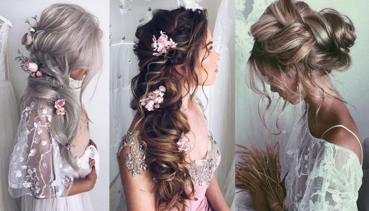 Ulyana Aster Long Wedding Hairstyles and Updos