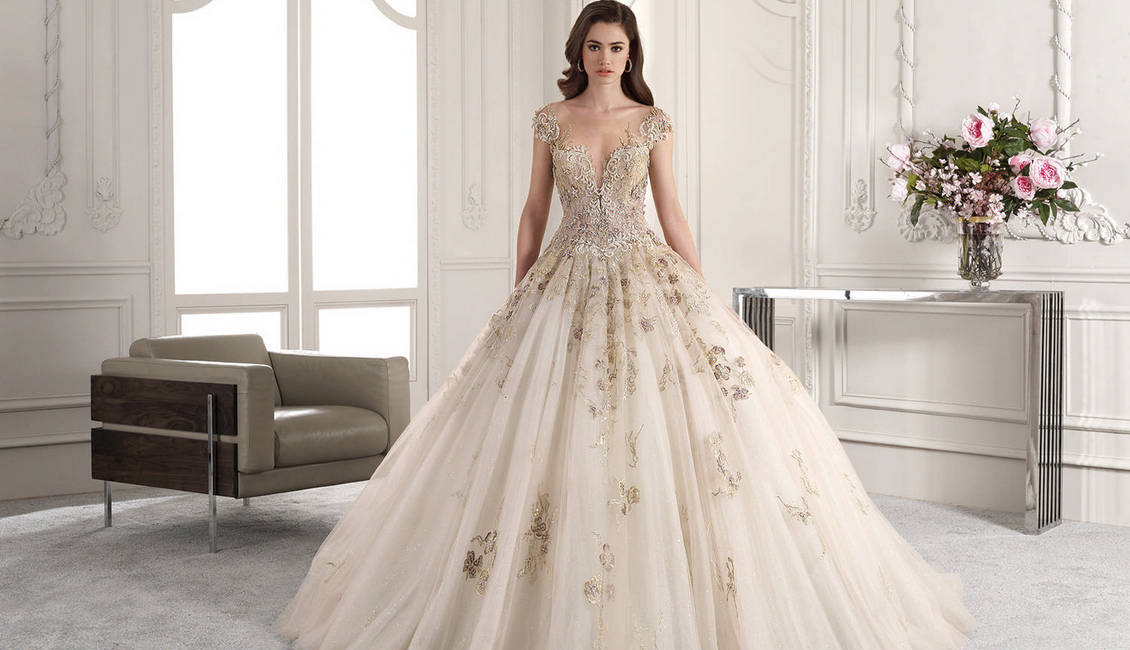 Demetrios Bridal 2019 Wedding Dresses Roses Rings
