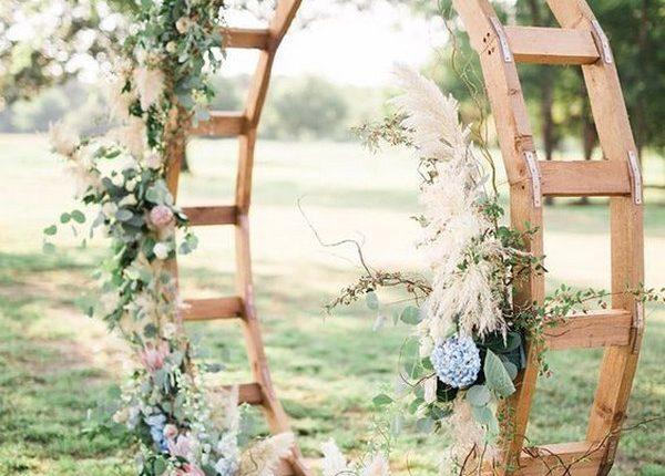 Spectacular Pampas Grass Wedding Decor