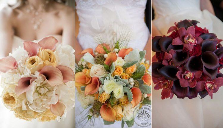 calla lilies wedding bouquets
