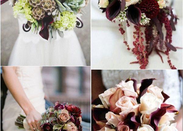 calla lily wedding flower bouquet ideas