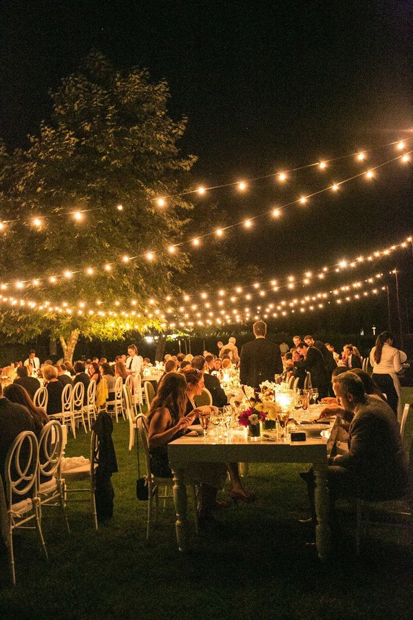 20 Breathtaking Wedding Reception Lighting Ideas You Can Steal