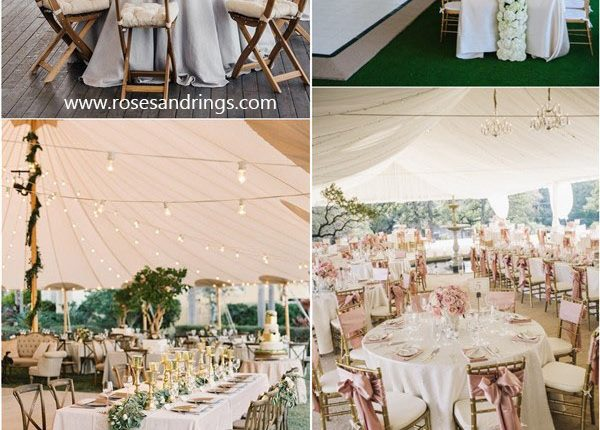 wedding tent wedding decor ideas