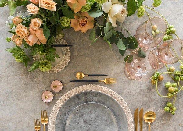 Wedding Reception Table Setting Decoration Ideas 10