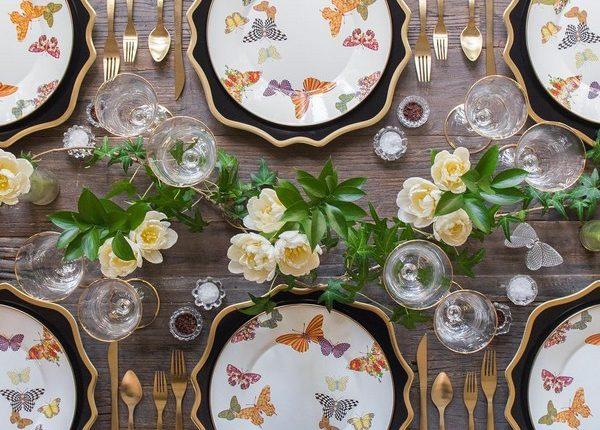 Wedding Reception Table Setting Decoration Ideas 11