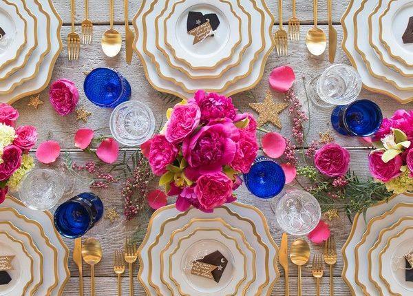 Wedding Reception Table Setting Decoration Ideas 12